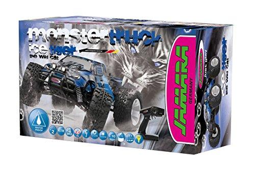 Tiger Ice Monstertruck 1:10 4WD NiMh 2,4G LED - Allrad, Elektroantrieb, Akku, 35Kmh, Aluchassis, spritzwasserfest, Öldruckstoßdämpfer, Kugellager, Fahrwerk einstellbar, fahrfertig - 6