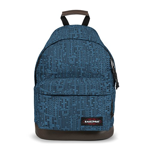 Eastpak WYOMING Sac à dos loisir, 40 cm, 24 liters, Bleu (Navy Blocks)