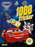 Disney Cars 3: 1000 Sticker: Mit vielen Rätseln und Malseiten