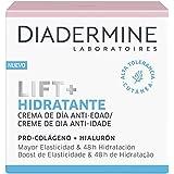 Diadermine Crema de Día Lift+ Hidratante, con tecnología Skinplex Optimizadora de Colágeno, Hidratación Intensa, 50 mililitro