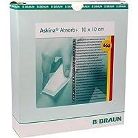 ASKINA Absorb+ Wundgaze 10x10 cm 10 St Wundgaze preisvergleich bei billige-tabletten.eu