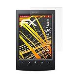 atFolix Schutzfolie kompatibel mit Sony PRS-T2 Reader Displayschutzfolie, HD-Entspiegelung FX Folie (2X)