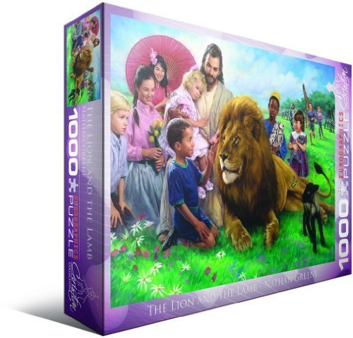 eurographics-the-lion-and-the-lamb-by-nathan-greene-1000-piece-puzzle-by-eurographics-english-manual