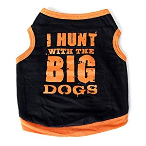HuntGold-New-Cute-Pet-Dog-Princess-T-shirt-Clothes-Vest-Summer-Coat-Puppy-Costumes-Outfit