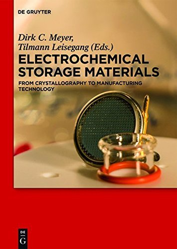 Electrochemical Storage Materials: From Crystallography to Manufacturing Technology (English Edition)
