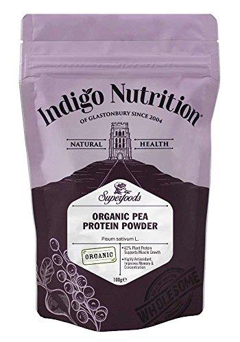 Indigo Herbs - BIO Erbsenprotein Pulver - Organic Pea Protein Powder - 100g