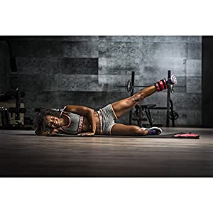GORILLA SPORTS® Gewichtsmanschetten 2er-Set für Fuß- und Handgelenke – Laufgewichte in 9 Gewichtsvarianten 1-10 kg + 10 kg-Set
