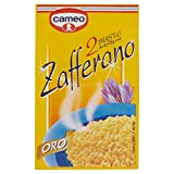 Cameo Zafferano Oro per Ciambelline Dolci - Pacco da 2 X 0.125 g  - Totale: 0.25 gr