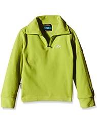 Trespass chico Masonville microforro, niño, color Verde - amarillo limón, tamaño Size 5/6