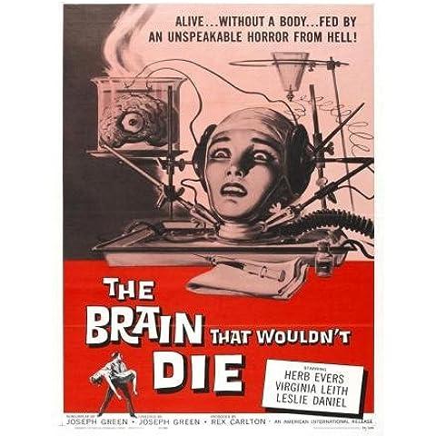 Brain che non sarebbe Die Movie Poster, 61 cm x 91 cm 24inx36in