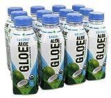 Aloe Gloe - Coco orgánico del agua del áloe - 12Botella (s)