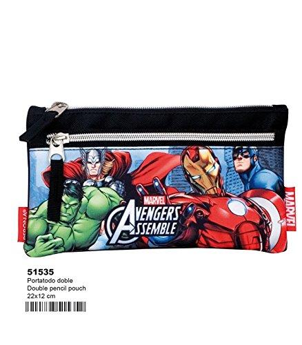 Portatodo Vengadores Avengers Marvel Alliance doble