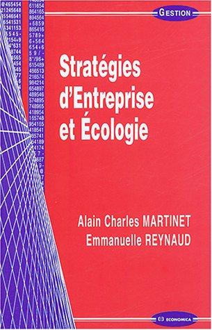Stratégie d'Entreprise et Ecologie
