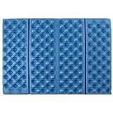 Blau faltbar Schaumstoff Wasserdicht Sessel Kissen Pads