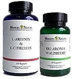 L-Arginin & L-Citrullin + BIO Aronia Waldbeere Set gegen Bluthochdruck