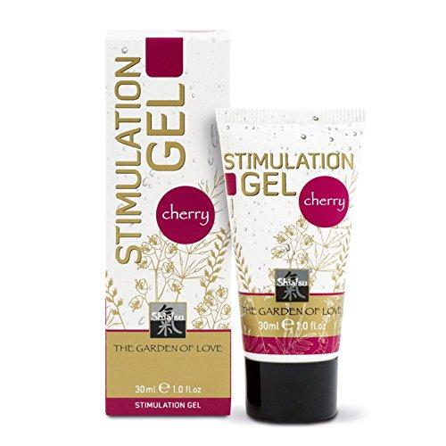SHIATSU Intim Stimulation Gel - Cherry, 30 ml