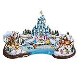 Paesaggio Illuminato La magia del Natale Disney 37 cm 50 Personaggi Disney selezione varzi dal 1956