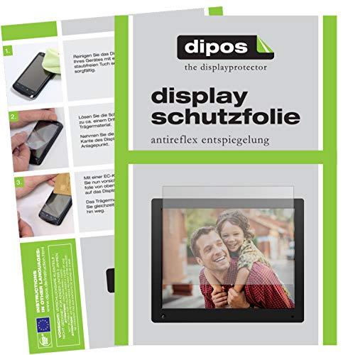 dipos I 2X Schutzfolie matt passend für NIX Advance 15 Zoll Folie Displayschutzfolie