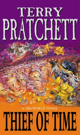 Cover of Thief of Time (Discworld 26)