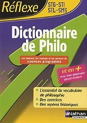 Dictionnaire de Philo : STG-STI-STL-SMS