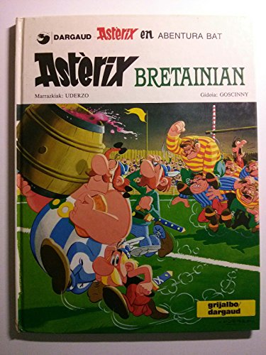 Asterix Bretainian (Asterix (euskeraz)) por Goscinny