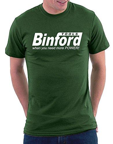 Binford Tools T-shirt Bottlegreen