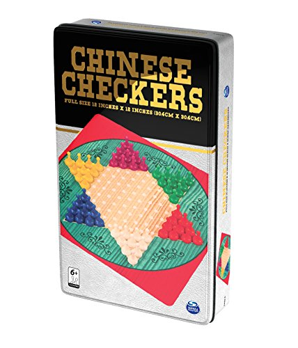 (CDL6036791) - Spin Master - ChineseCheckers Tin (CDL58324) 0778988663257
