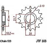 jtSprockets pignon Honda NX 650 Dominator 13 dents 520 JTF308.13