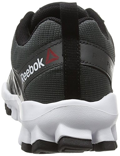 Reebok Realflex Train 4.0, Chaussures Multisport Outdoor Femme Gris (Gravel/Black/White)