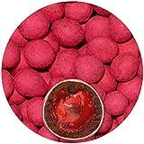 EinsSein® 500g Schokofrüchte Erdbeeren kandiert Schokolade Glückssteine Gastgeschenke Hochzeit Ringe schokolierte Früchte Rohkost Apfelringe Candy Bar Hochzeitsmandeln Schokomandeln Zuckermandeln