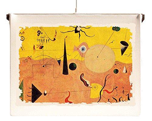 Lámpara Marco de suspensión de techo Joan Miro '-Paisaje Catalano