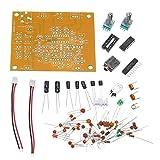 ZXJUAN Controllo Wireless Kit Ricevitore Banda Ricevitore Audio Modulo Kit Fai da Te Aviation Ricevitore Banda Aircraft