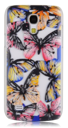 JAMMYLIZARD | 3D Schmetterling Back Cover Hülle für iPhone 5 / 5S, NINA ESTRIADA MONARCA
