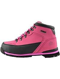 Womens New Comfort Seguridad en el Trabajo Botas de Puntera de Acero Planta de botas de trabajo