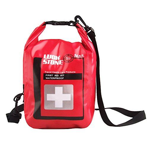MagiDeal 5 Liter Wasserdichte Notfall Erste-Hilfe-Kit Tasche als Im Freien Trockentasche, Medizin Beutel