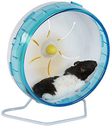 Pet Ting Premium-Laufrad für Mäuse, Hamster, Ratten etc., leise