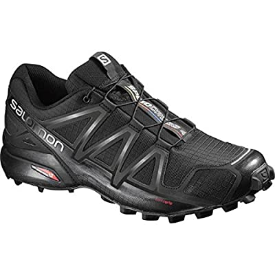Salomon Men's Speedcross 4 Trail Running Shoe, Synthetic/Textile