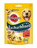 Pedigree Leckerbissen Kau-Schnitten Hundesnacks, 6 Beutel (6 x 155 g)