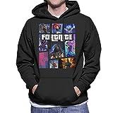 Cloud City 7 Fortnite Grand Theft Auto Mens Hooded Sweatshirt