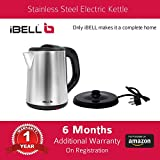 iBELL 1500 W Stainless Steel High Polished Electric Kettle