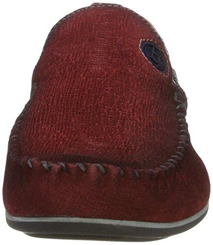 bugatti Herren F066731 Mokassin Rot (rot 300)