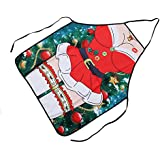 Chinget Adult Christmas Apron Home Kitchen Xmas Cooking Party Aprons Gift Christmas Tree Pattern