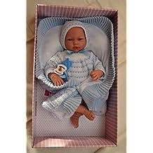 Munecas 565 Guca Samuel - Muñeca de bebé (38 cm), ...