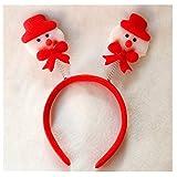 OFT 1set. Weihnachts Haarschmuck Kopfbügel Stirnband Weihnachtsschmuck -
