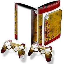 Colección 32, Custom Consola PS3FAT Slim Full Body diseño pantalla Skin Protector Funda