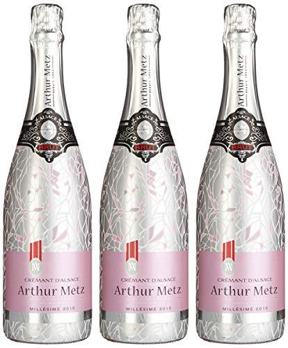 Arthur Metz Pinot Noir Crémant (3 x 0.75 l)