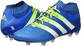 adidas Herren Ace 16.1 Primeknit FG/AG Laufschuhe, Azul / Verde / Blanco (Azuimp / Seliso / Ftwbla), 42 EU - 5