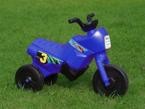 Kiddie Bikes, Light bike, Ride-on toddler bike, Push along motorbike (for ages 1-2, Mini Blue)