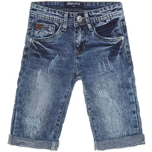 BEZLIT Jungen Shorts Cargo Kurze Hose Bermuda Kinder Capri Vintage Jeans  Strech 21301 Blau Größe 104 32abbca376