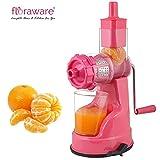 #3: Floraware Plastic Fruit and Vegetable Juicer, 150ml, Pink